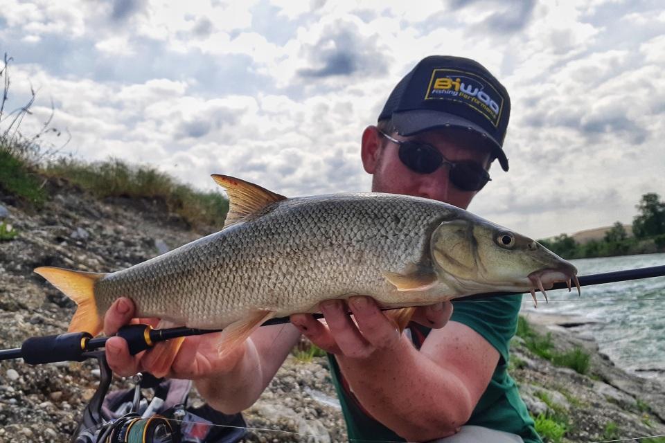 ribolov na slapu