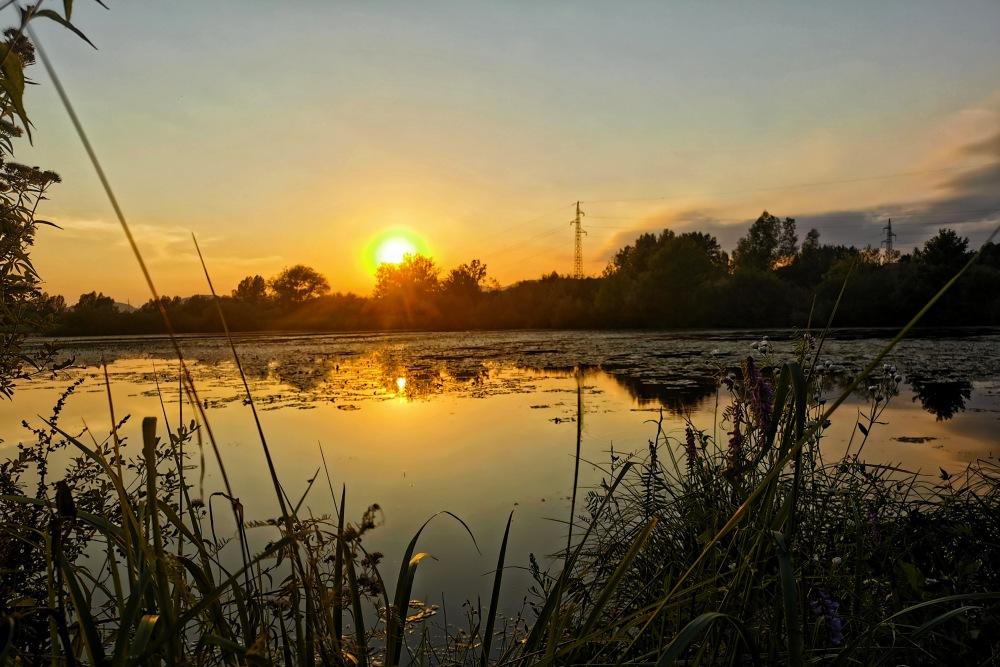 ivanec sunset