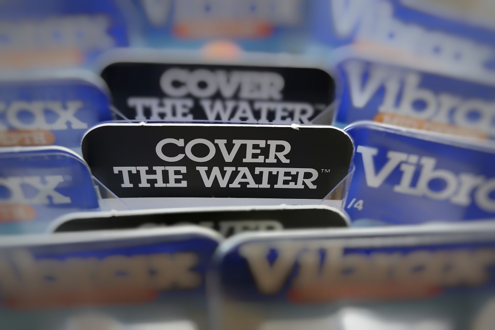 cover the water vibrax