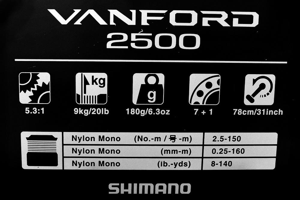 vanford shimano