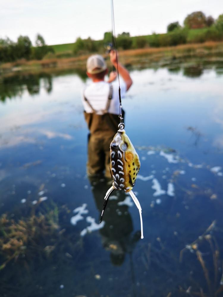 stuka ribolov zabom