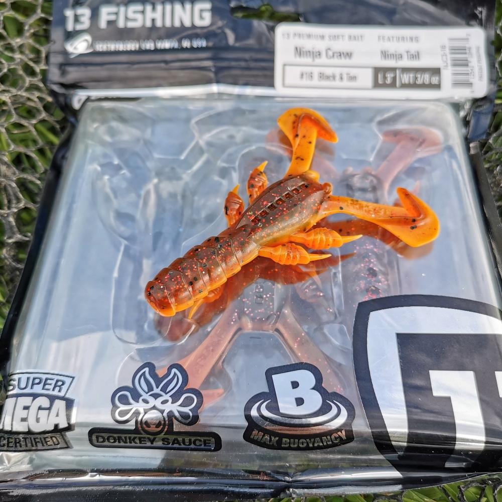 13 fishing ninja craw ft ninja tail